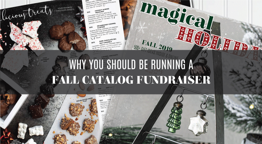 Why You Should Be Running a Fall Catalog Fundraiser