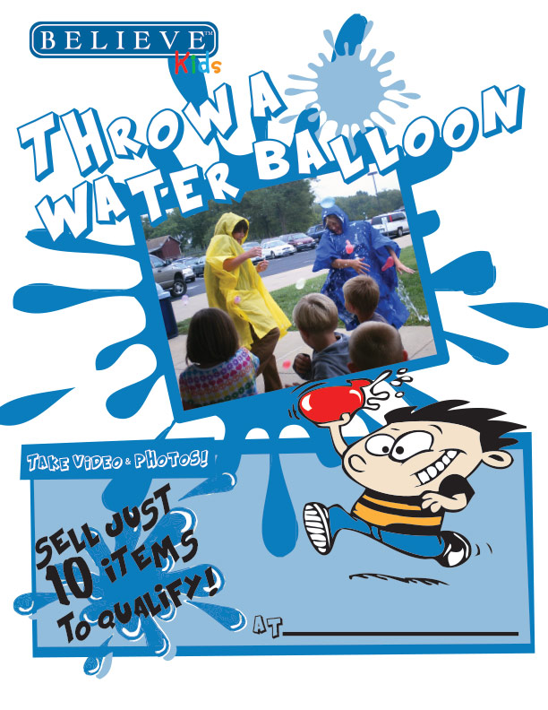 Throw A Waterballoon