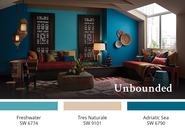 Sherwin Williams Unbounded Color Palette