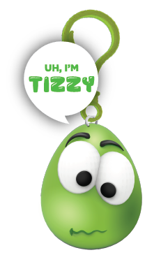 Squishy Sidekick I go by Tizzy