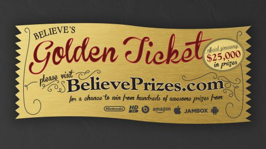 Believe Kids | Golden Ticket Game